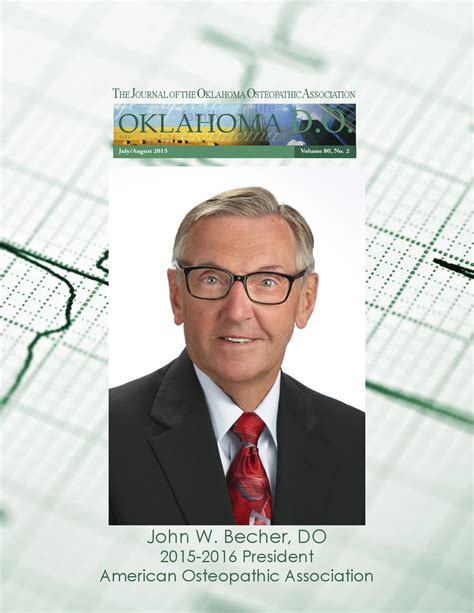 Oklahoma Mba Conference by Oklahoma Do July August 2015 By Oklahoma Osteopathic