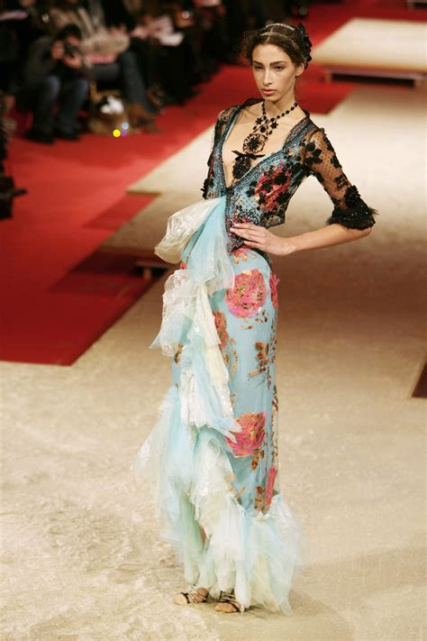 Runway Report Christian Lacroix Couture by Christian Lacroix 2006 Runway Pictures Livingly