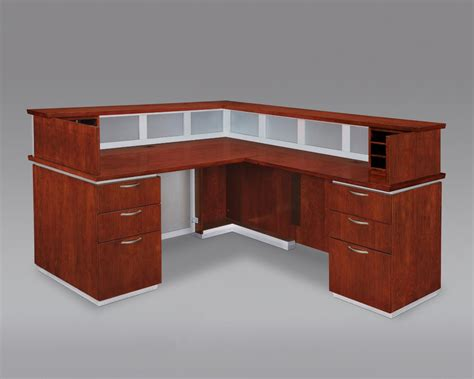 Custom Desk Design Ideas Custom L Shaped Reception Desk Designs Desk Design