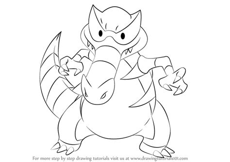 pokemon krookodile free colouring pages krookodile pokemon coloring pages images pokemon images