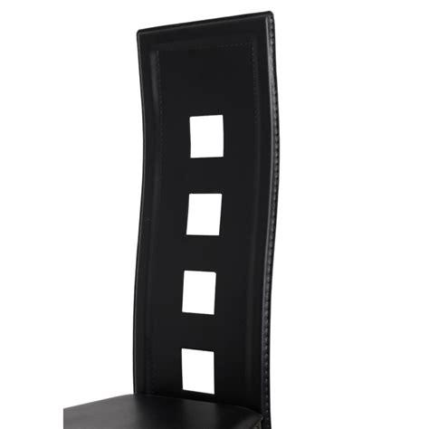 sedie moderne nere articoli per sedie moderne cucina pranzo6 schienale alto
