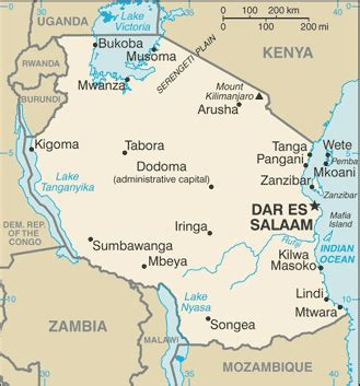 5 themes of geography tanzania news
