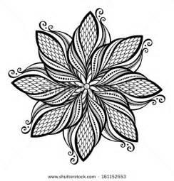 Beautiful deco mandala vector patterned design stock vector