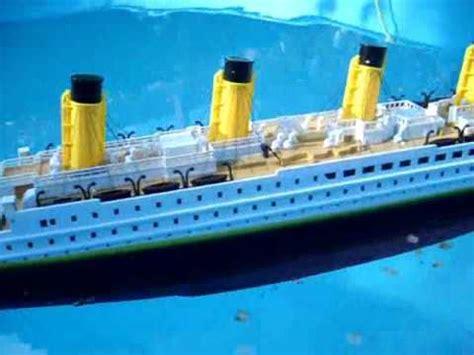 titanic rc boat sinking rc schiff titanic rtr modell brigamo youtube