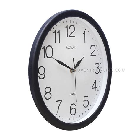 Spon Mandi Bulat Warna 50 G jam dinding merek hitam 32 cm