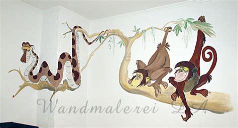 Wandtattoo Kinderzimmer Dschungelbuch by Kinderzimmer Wandgestaltung Dschungelbuch Saborbrickell