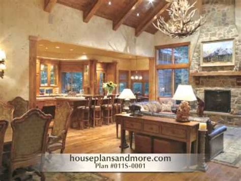 luxury ranch homes video house plans   youtube