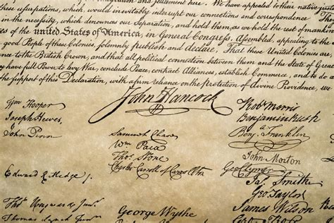 benjamin franklin signature declaration of independence this is the most valuable signature on the declaration of