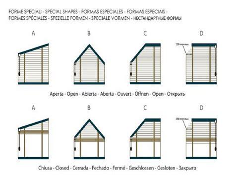tende per finestre oblique tende veneziane su misura