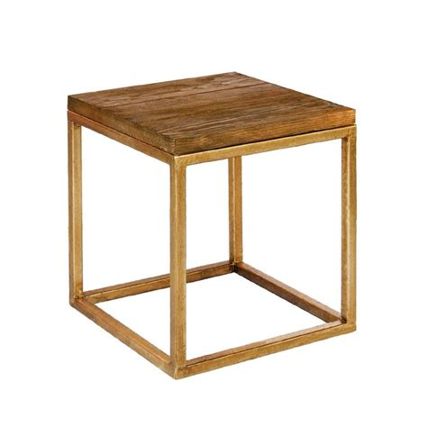 Gold End Table by Gold Side Table