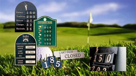 chions golf club plaques golf course signs golf signs memorial plaques