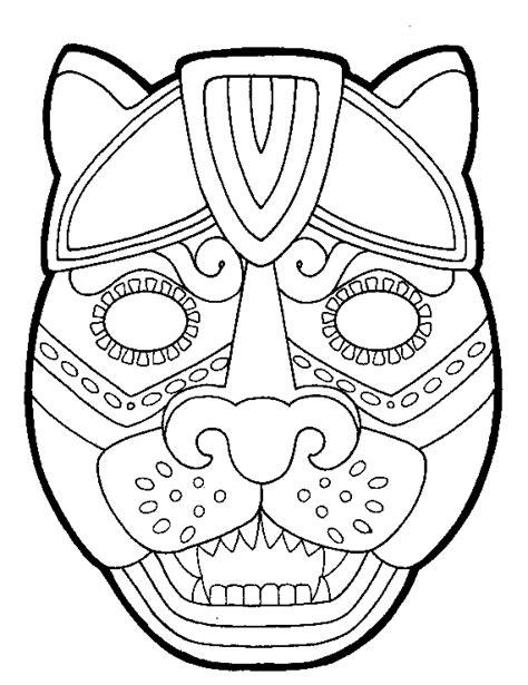 Imagenes De Caras Mayas | caretas para disfraces infantiles m 225 scaras para ni 241 os