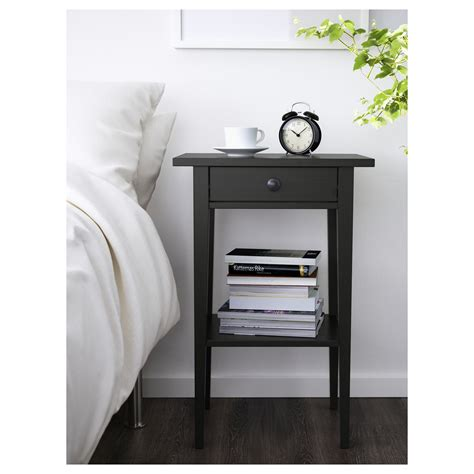 comodini ikea hemnes hemnes bedside table black brown 46x35 cm ikea