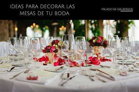 decorar la boda ideas geniales para decorar las mesas de tu boda palacio
