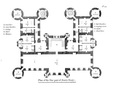 country house interiors castle douglas 179 robert adam douglas castle second floor plan robert adam bd13 pinterest