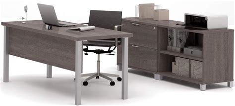 Office Desk Modular Pro Linear Metal Leg Modular Office Desk Series Executive