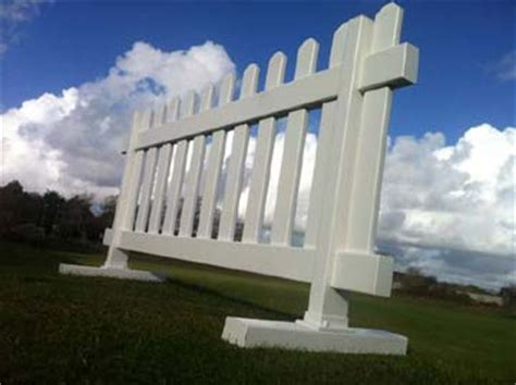 free standing fence sections vinyl fencing temporary fence