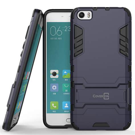 Armor Iron Hybrid For Xiaomi Mi5 coveron 174 for xiaomi mi 5 hybrid stand armor dual layer phone cover ebay