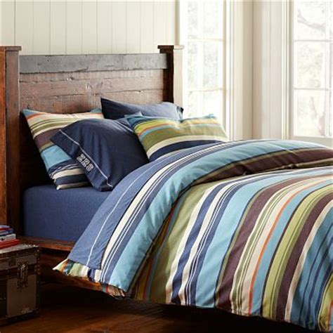pottery barn boys bedding shoreline duvet on pottery barn teen also like the bed