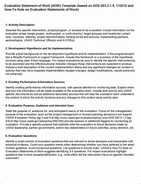 usaid business plan format 8 project outline templates sletemplatess