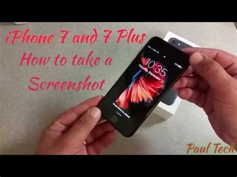 how to take a screenshot on your iphone 7 iphone 7 plus