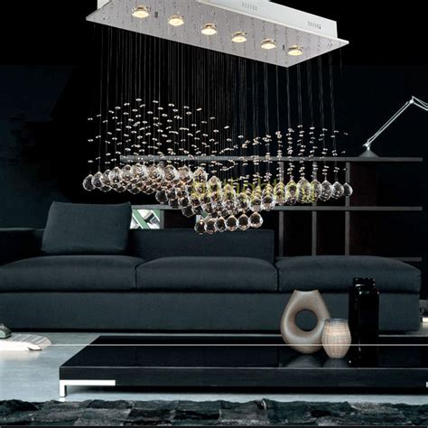 Contemporary Rectangular Chandeliers Chandeliers With Balls For Dinning Room Rectangular Chandelier Contemporary