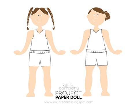 How To Make Paper Clothes For Dolls - be different act normal free paper dolls printable