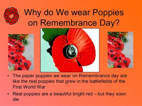 why we make day remembrance day