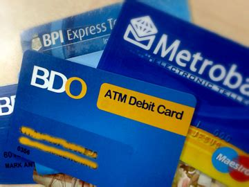 Sle Credit Card Philippines how to cope with a lost atm or credit card in the philippines cebu finest