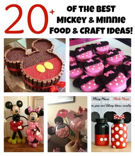 craft ideas for kitchen the best mickey mouse food craft ideas for