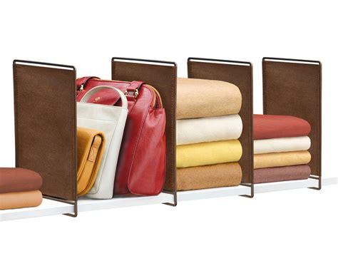Closet Shelf Dividers by Closet Shelf Dividers Set Of 2 In Shelf Dividers