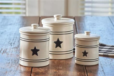 hearts and stars kitchen set country canister set country dinnerware by park designs dl country barn