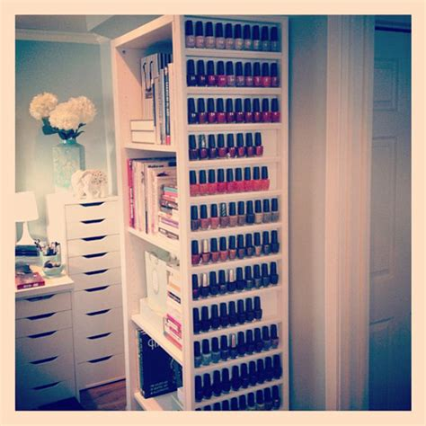 nagellack aufbewahrung schublade 15 beautiful ideas to organise your nail jewelpie