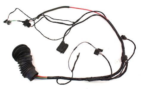 driver front power door wiring harness  vw golf cabrio genuine
