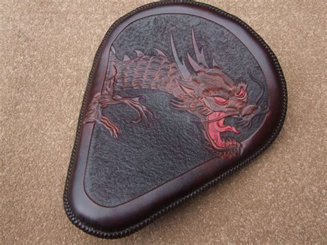 Handmade Leather Motorcycle Seats - 17 best images about tooled leather motorcycle seats on