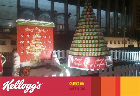 merry pringles a christmas t kellogg company office