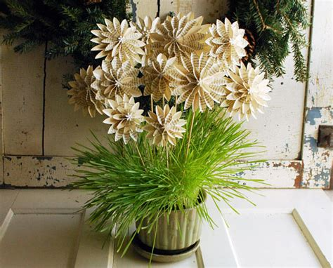 How To Make Paper Bushes - 22 amazing diy house plants that will never die