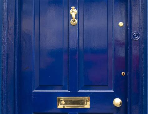 awesome Blue Front Door Colors #1: Nico-Tondini-bluedoor-56a2e27b5f9b58b7d0cf829d.jpg