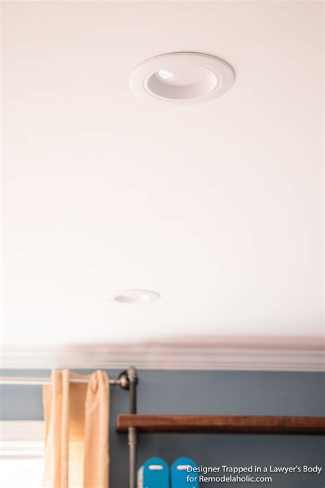 how to install recessed lighting remodelaholic how to install recessed lights without