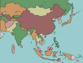 Asia Map Test by Pics Photos Blank Asia Map Quiz