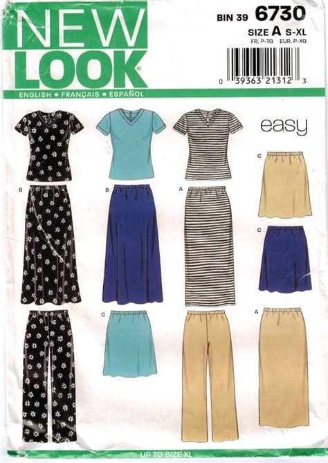 new pattern of t shirt new look pattern quick and easy knit sportswear separates