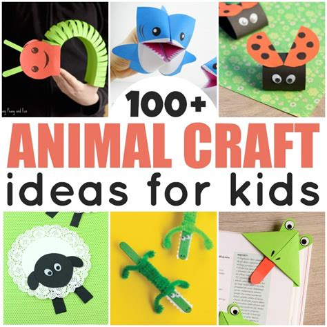 animal crafts for to make animal crafts for easy peasy and