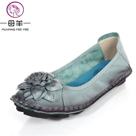 top comfortable shoes for women 2016 new fashion women s flat shoes woman genuine leather
