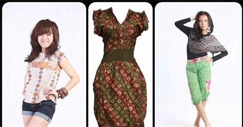 Baju Batik Nu model baju batik modern remaja batik indonesia