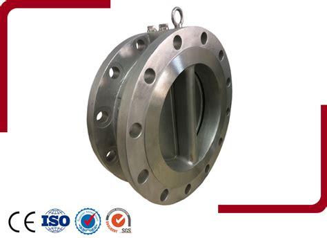 double swing check valve check valve dual plate check valve double flange dual