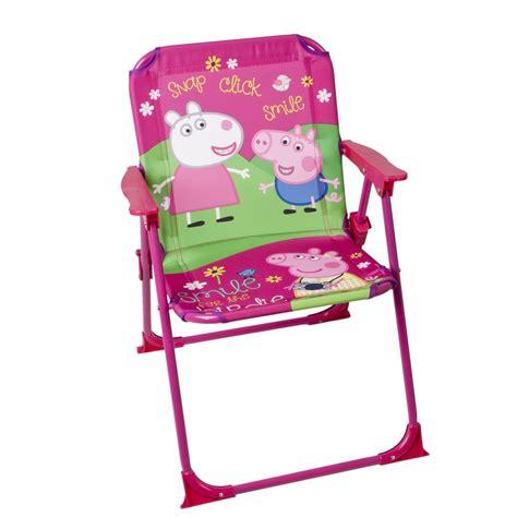 peppa pig chair children folding chair peppa pig garden cing home ebay