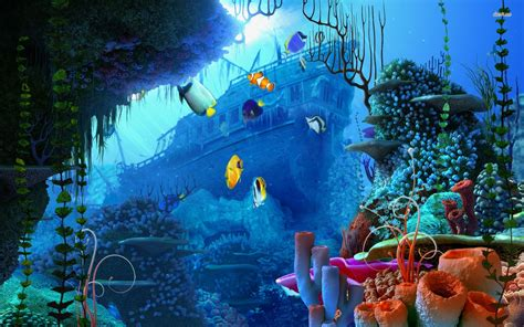 free wallpaper underwater scene underwater scenes desktop wallpaper wallpapersafari