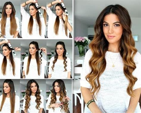 how to make straight hair curly styling your hair 25 ways of how to make your hair wavy