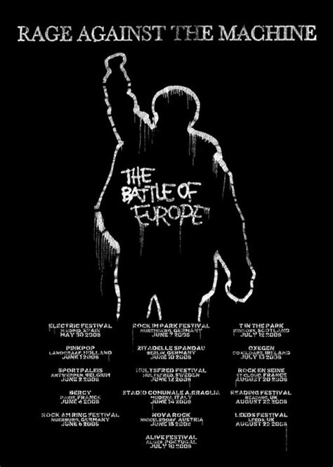 Rage Against The Machine Belt rage against the machine posters ratm battle of europe