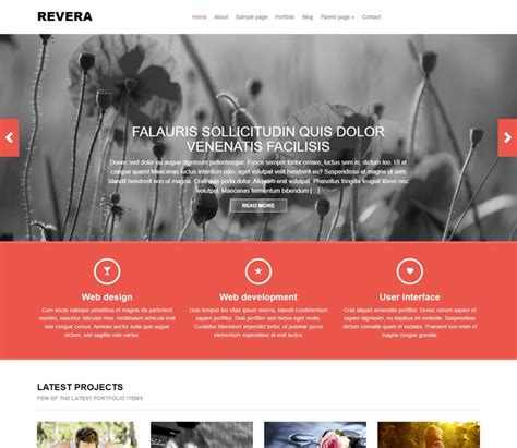 design header wordpress 55 best free wordpress themes and templates for 2018